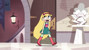 S3E14 Star Butterfly entering the castle gardens.png