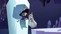 S3E2 Eclipsa whispering in Queen Moon's ear