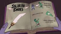 S4E33 Solarian Sword page in the Compedium