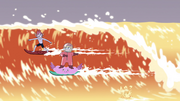 S4E6 Tom and Star surfing together.png