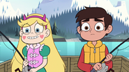 S2E10 Star Butterfly and Marco Diaz fishing