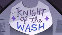 S3E8 Knight of the Wash sign