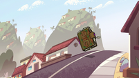 S2E14 Instruction book bouncing down the street