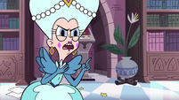 S3E27 Queen Moon 'making up ridiculous stories'