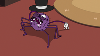 S2E22 Spider With a Top Hat picking himself up