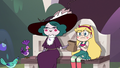 S3E14 Eclipsa gives bag of birdseed to Star