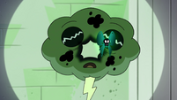 S4E21 Nameless Spell phases through Hypnoslumber
