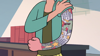 S2E16 Janna with an arm of tattoos