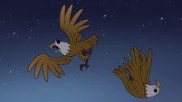 S3E38 Soulless eagles' bodies float through the sky
