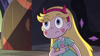 S2E31 Star Butterfly listening to Adult Marco