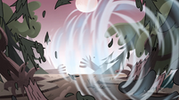 S4E24 Trees blown away by Globgor's roar