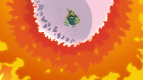 S2E12 Buff Frog drops out of the sky