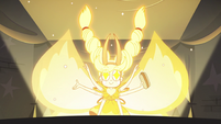 S3E18 Mewberty Star emerging from the portal