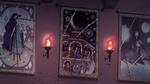 S4E15 Festivia, Celena, and Skywynne's tapestries