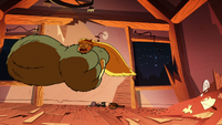 S2E22 Wolf monster grabs Star Butterfly through the window
