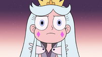S3E2 Queen Moon looking sternly at monsters