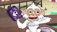 S4E2 White monkey looking devilish