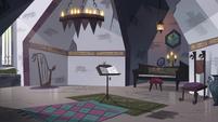 S4E24 Monster Temple music room