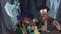S4E5 Brunzetta punches Marco in the gut