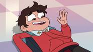 S3E14 Marco Diaz waving hello to Star Butterfly