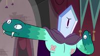 S4E24 Rhombulus 'all she cares about'