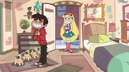 S3E14 Marco very happy with his new bedroom
