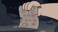 S3E27 King Butterfly's scroll of body markings