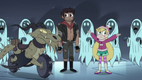 S4E5 Wraiths surround Star and Marco