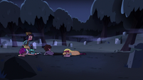 S2E27 Star, Marco, and Jackie fall to the ground