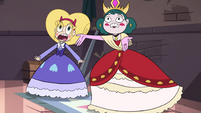 S4E24 Star and Eclipsa shocked by Meteora's fall