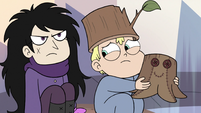 S3E25 Butterfly boy looking embarrassed