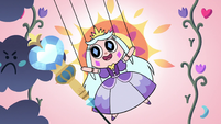 S2E40 Princess Moon puppet drives away the angry clouds