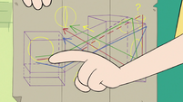 S3E23 Star Butterfly pointing at the map