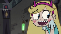 S3E20 Star Butterfly sweating nervously
