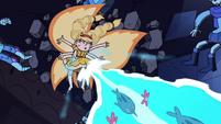 S3E38 Star flies backward after casting magic