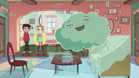 S2E8 Cloudy makes a mess in the living room
