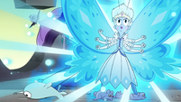 S4E35 Moon transforms to her butterfly form