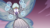 S3E36 Queen Moon about to finish Meteora off