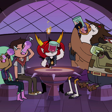 S4E22 Marco and friends chug their drinks.png