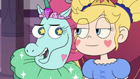 S3E10 Pony Head whispering to Star Butterfly