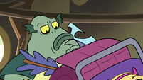 S2E28 Buff Frog thinking for a moment