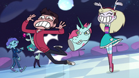 S1e2 marco is pushed away