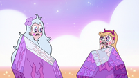 S3E38 Star and Moon startled by each other