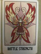 Solaria butterfly form tarot card