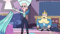 S2E40 Queen Moon removing her gown bottom