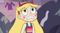 S3E14 Star Butterfly looking very worried