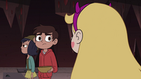 S4E13 Marco nodding at Star Butterfly