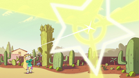 S2E14 Star Butterfly casts Warnicorn Stampede