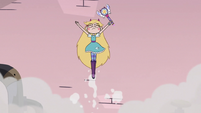 S3E8 Star Butterfly jumping out of the steam