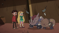 S2E28 Elephant and bear monsters bowing to Star